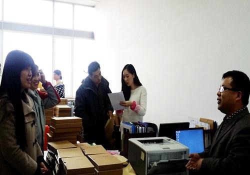辽宁铁道职业技术学院调研组来我校调研档案工作 辽宁工业